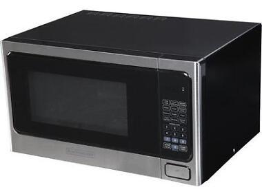 Black & Decker 1.1 cu. ft. 1000W Microwave Oven