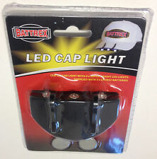 5 LED baseball Cap light head torch carp fishing camping bike bivvy fox hunting.