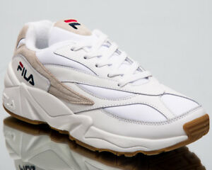 b6ed97adcfc89a Fila Venom Low Top New Men Sneakers White Beige 2018 Lifestyle Shoes ...