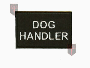 Security Close Protection High quality Pair of Dog Handler Epaulettes Badge