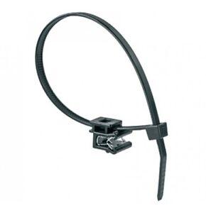 10 x Kabelbinder mit Clip 6,5 mm CHRYSLER CITROEN DAEWOO FIAT FORD GMC*