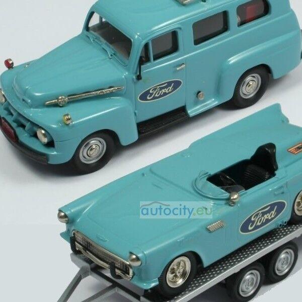 Die brooklin sammlung brk - f-s 01 1952 ford ranger + ford t - bird ist brkfs01 1957