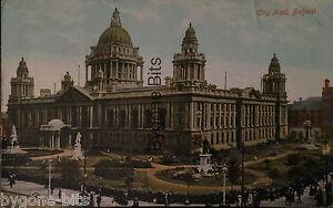 City-Hall-Belfast-Co-Antrim-Postcard-Northern-Ireland-1901