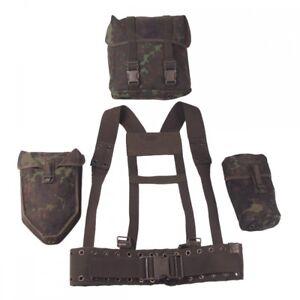 Original-Bundeswehr-Koppeltragesystem-flecktarn-Koppel-Koppeltragegestell-Tasche