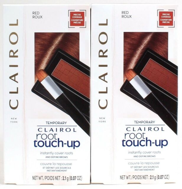 2 Ct Clairol Root Touch Up Multi Use Powder For Hair & Eyebrows In Red