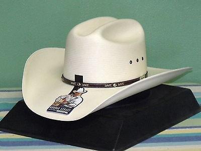 RESISTOL GEORGE STRAIT LAMBERT 10X STRAW COWBOY WESTERN HAT  b14738eff29
