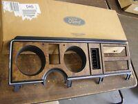 Ford 1986 1987 1988 Ranger + Bronco Ii Dash Bezel Trim Pickup Truck Wood