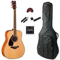 Yamaha Fg820 Left Handed Acoustic Guitar Value Pack on Sale