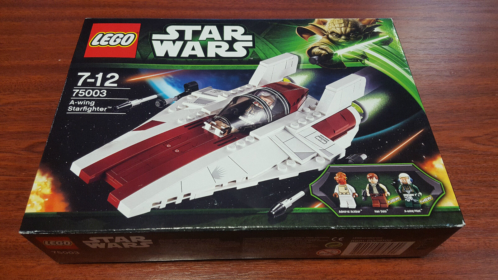 LEGO STAR WARS 75003  A-WING Starfighter   - nouveau - NEUF - SUPERBE - RARE  livraison directe et rapide