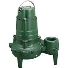 zoeller 1 2 hp 2 manual submersible sewage pump 115v n267 ebay rh ebay com