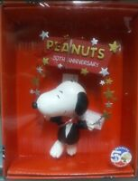 Peanuts Snoopy Stars 50th Anniversary Christmas Ornament - In Box