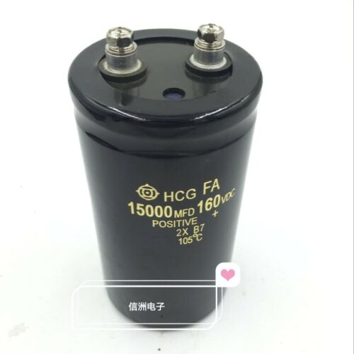 1PCS for HCG 160V 15000UF ELECTROLYTIC CAPACITOR 50X80mm