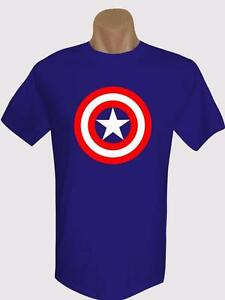 captain america logo brand new men s ts 100 cotton many colors