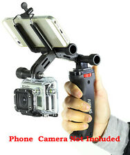 Flyfilms Camera Handle Pistol Grip Stabilizer Kit + FREE IPhone + GoPro Adapter