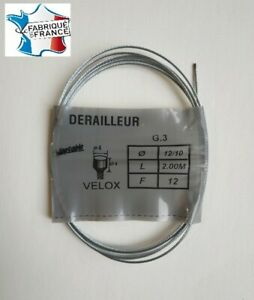 Cable-Brake-Rear-7-5-12ft-for-Bike-Old-Vintage-Velox-Made-IN-France
