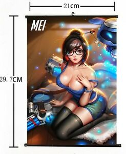 Sexy overwatch mei Sexiest Overwatch