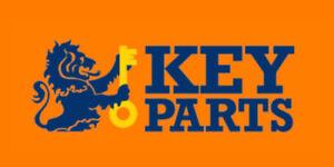 Front Key Parts KBD4608 Brake Disc Pair