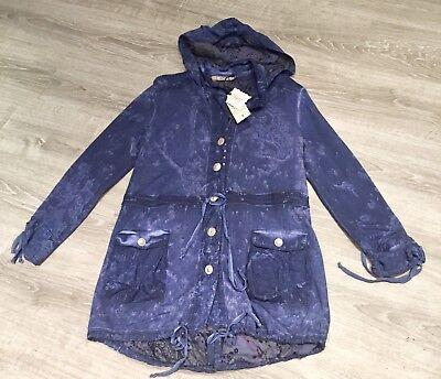 M Blau Jacke Von Bottega Gr Hilfreich Toller Sweat-parka