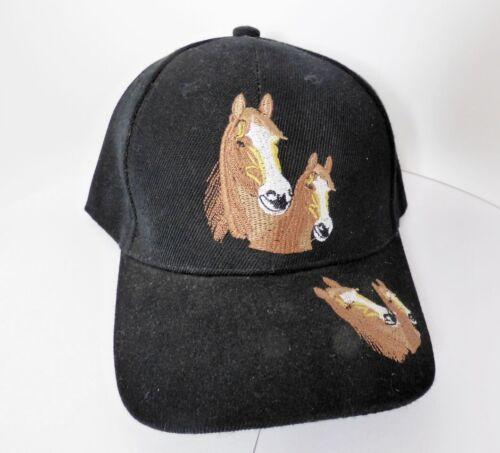 Enfants cap Basecap Casquette avec bouclier et brodé avec Cheval-chevaux