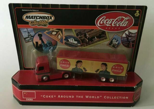Complete Set Of 6 Matchbox Coca Cola Coke Around The World Semi Trucks 2000 For Sale Online Ebay
