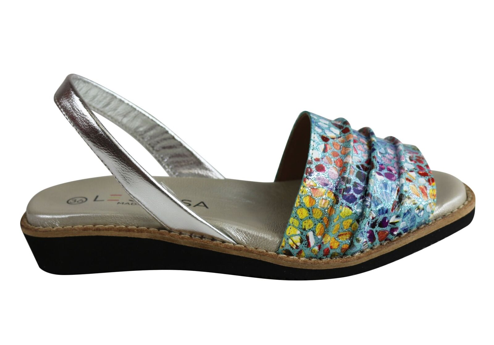 Le Sansa By Cc Resorts Phoenix Womens Leather Sandals Made Made Made In Spain bf6b84