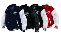 Comfortable College Jacket American Baseball Sports Jacket Football S-xxl