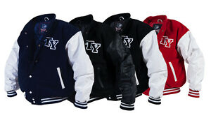 mieux aimé 4d7ad f2af6 Details about Comfortable College Jacket American Baseball Sports Jacket  Football S-XXL NEW