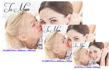 PERSONALISED JIGSAW PUZZLE ANY NAME / MESSAGE/ PICTURE PRINTED - BOXED or BAG