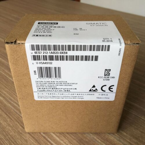 1PCS New Siemens PLC 6ES7 212-1AB23-0XB0 6ES7212-1AB23-0XB0