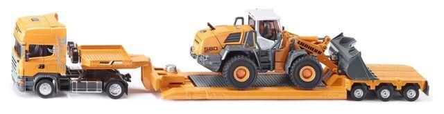 SIKU SUPER 1:50 Die Cast + Kunststoffteile 3933 Scania R620 mit Radlader