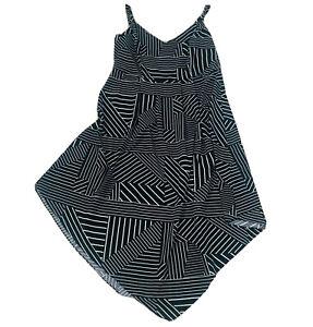 City-Chic-Black-amp-White-A-Line-Dress-Plus-Size-Small-Women-s-16