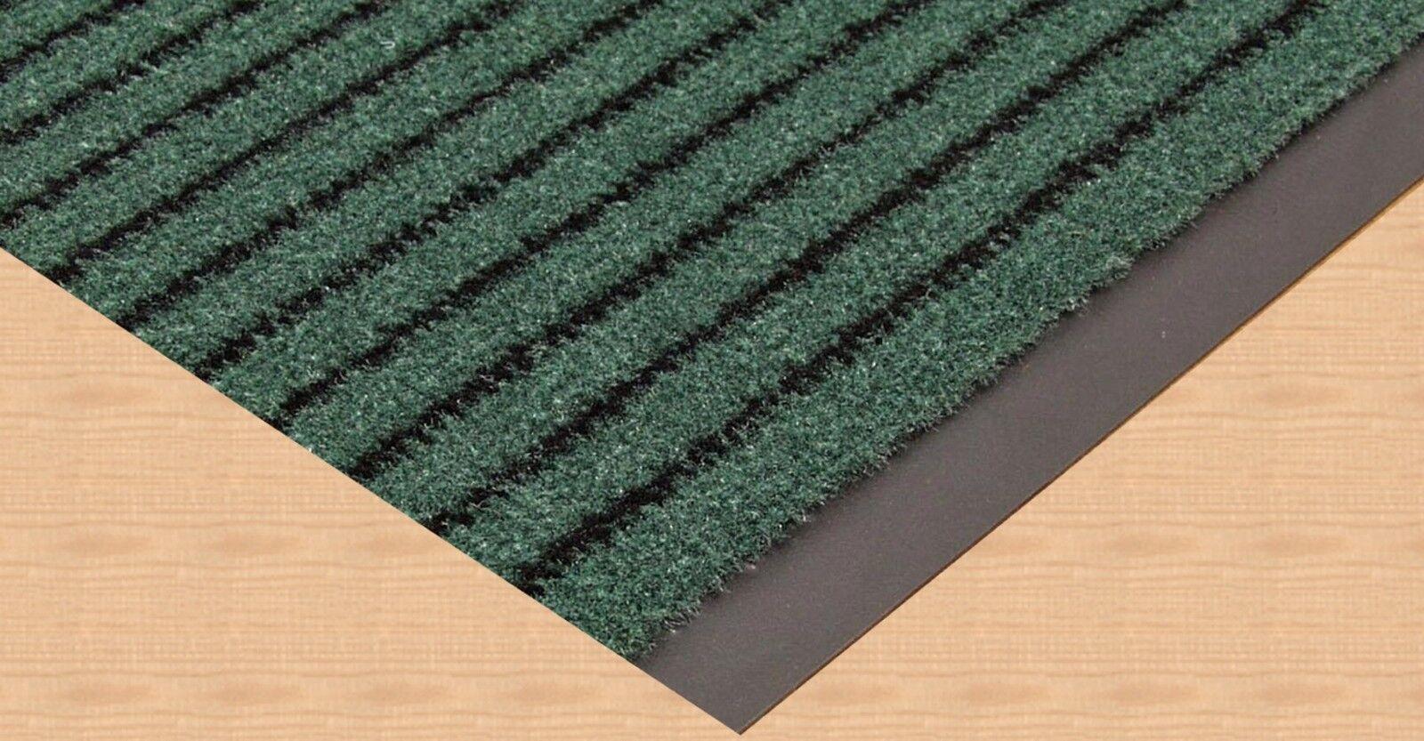 Schmutzfangläufer Entree Sauberlaufmatte grün 120cm DEKOWE Fußmatte Fußmatte Fußmatte Türmatte d674a7