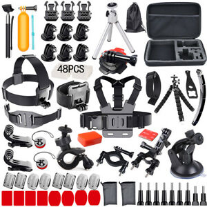 Accessories-Pack-Case-Head-Chest-Monopod-Bike-Surf-Mount-for-GoPro-Hero-5-4-3-2