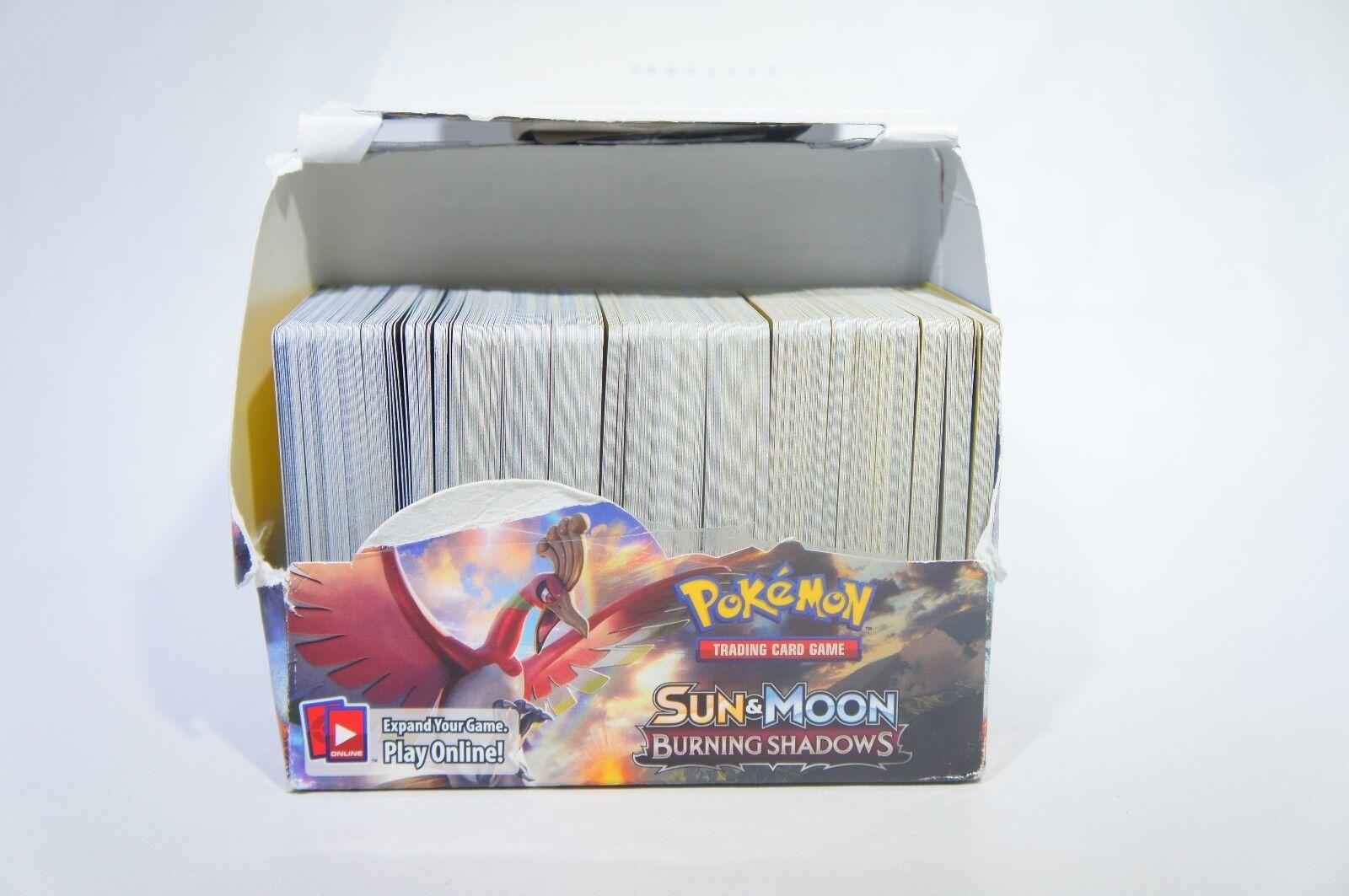 Pokemon tcg sun & moon brennenden schatten 380 karten gezählt - emmerling (h - 40)