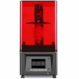 ELEGOO Stampante 3D Mars Pro MSLA 3D Photocuring UV Stampante 3D LCD con sorg...