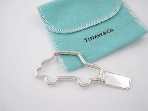 b2d21cf27 Tiffany & Co Silver RARE VINTAGE Car Key Ring Key Chain Keychain! | eBay