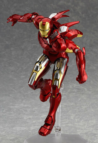 MAX Factory Figma EX-018 MARVEL Avengers Iron Man Mark MK VII 7 Full Spec ver.