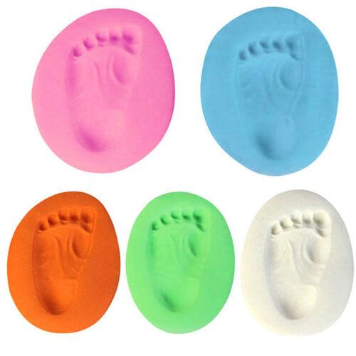 Soft Air Drying Clay Kids Handprint Footprint Imprint Kit Casting Print Colorful