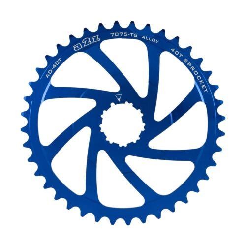 40 T cassette de pignon 10 Vitesses Pour Shimano avec 16 T Cog MTB bike Bleu