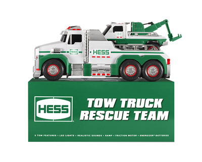 Both Trucks! Hess 2019 Tow Truck Rescue Team NEW In SEALED BOX!! Action Sounds