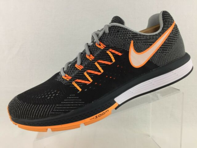 Nike Zoom Vomero 10 Mens Running Shoes Gray Black Orange 717440 003 US 13 EU 47
