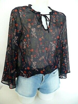 g229 Señora túnica blusa camisa Gekko en rojo talla 2xl 3xl 4xl 52 54 56 58 60