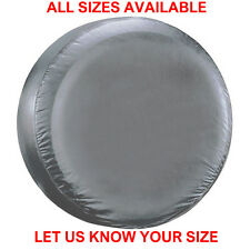 SILVER 4x4 wheel cover to fit all rear spare tyre tire wheelcover - All Sizes !