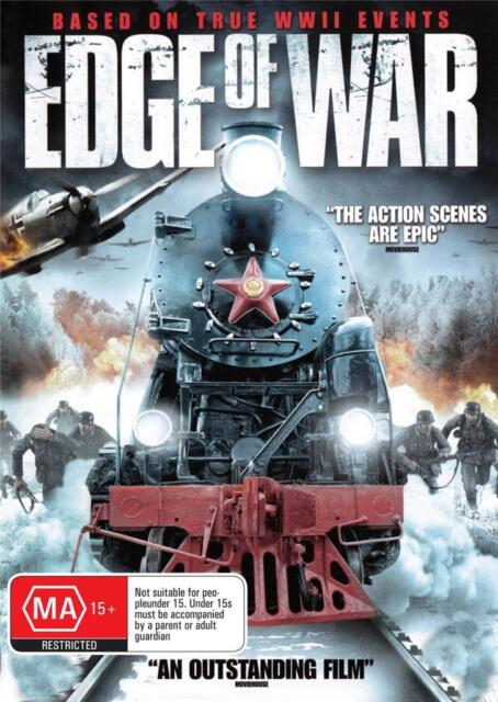 EDGE OF WAR -  NEW & SEALED DVD - FREE LOCAL POST