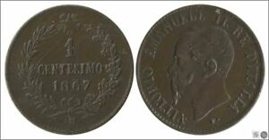Italy-italy-KM00001-1-67-EBC-XF-1-Hundredth-1867-M