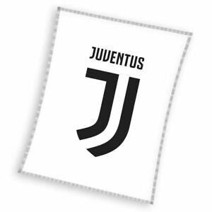 Juventus-fc-Blanc-Couverture-Polaire-110cm-x-140cm-Football-Enfants
