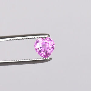 Natural Ceylon Sapphire Pink Color 3.60 Ct Heart Shape Loose Certified Gemstone