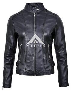 Real Izabel Fashion Ladies Designer Black 3061 New Jacket Soft Leather Stilfuld w0FCw4q