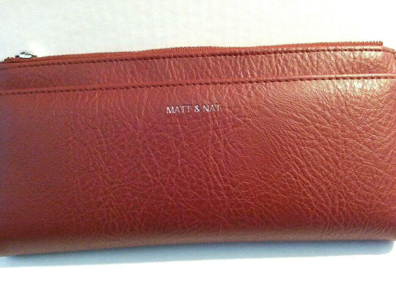 Black Matt /& Nat Motiv Large Dwell Wallet