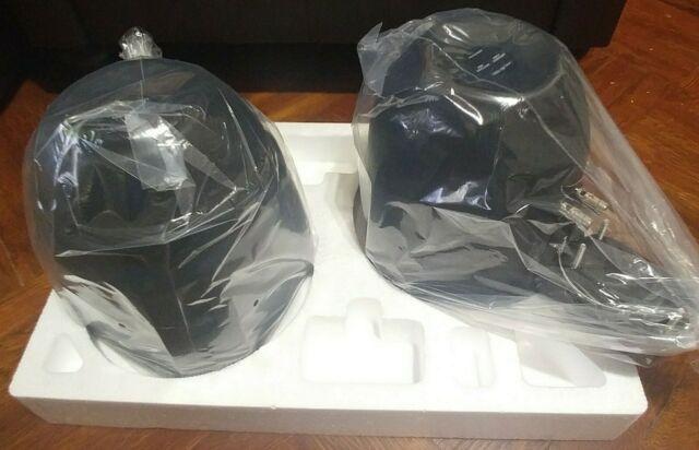 MCM Custom Audio 60-10031 8 Marine Wakeboard Two-Way Speaker Pair Black